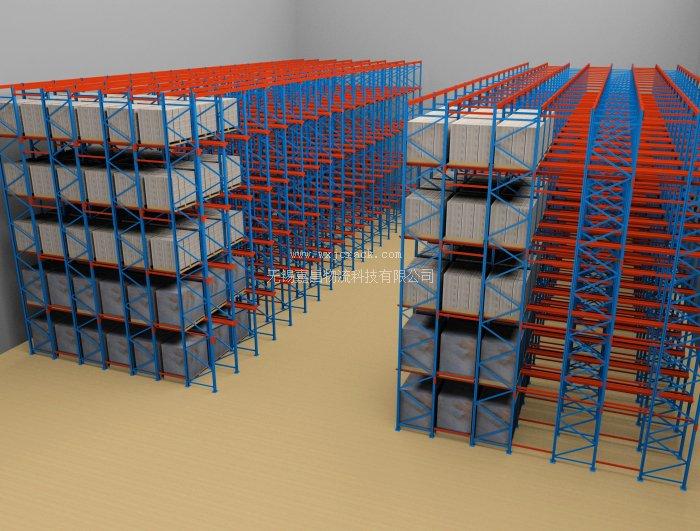 仓库货架平面设计图展示